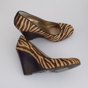 BCBG Generation Wedge Animal print Size8B
